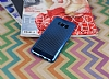 Samsung Galaxy S8 Noktalı Metalik Mavi Silikon Kılıf - Resim 2