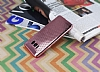Samsung Galaxy S8 Noktalı Metalik Pembe Silikon Kılıf - Resim 2