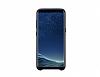 Samsung Galaxy S8 Orjinal Alcantara Süet Siyah Kılıf - Resim 2