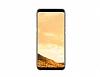 Samsung Galaxy S8 Orjinal Clear Cover Gold Rubber Kılıf - Resim 4