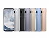 Samsung Galaxy S8 Orjinal Clear Cover Silver Rubber Kılıf - Resim 5