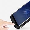 Samsung Galaxy S8 Plus 6500 mAh Siyah Bataryalı Kılıf - Resim 5
