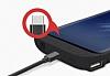 Samsung Galaxy S8 Plus 6500 mAh Siyah Bataryalı Kılıf - Resim 3