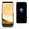 Samsung Galaxy S8 Plus 6500 mAh Siyah Bataryalı Kılıf - Resim 1