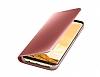 Samsung Galaxy S8 Plus Orjinal Clear View Standlı Kapaklı Pembe Kılıf - Resim 6