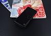 Samsung Galaxy S8 Plus Cüzdanlı Yan Kapaklı Siyah Deri Kılıf - Resim 1