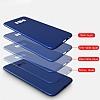 Samsung Galaxy S8 Plus Mat Kırmızı Silikon Kılıf - Resim 4