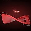 Samsung Galaxy S8 Plus Mat Kırmızı Silikon Kılıf - Resim 1