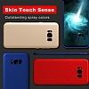 Samsung Galaxy S8 Plus Mat Kırmızı Silikon Kılıf - Resim 3