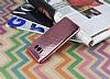 Samsung Galaxy S8 Plus Noktalı Metalik Pembe Silikon Kılıf - Resim 2