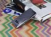 Samsung Galaxy S8 Plus Noktalı Metalik Dark Silver Silikon Kılıf - Resim 1