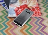 Samsung Galaxy S8 Plus Noktalı Metalik Silver Silikon Kılıf - Resim 1