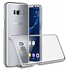 Samsung Galaxy S8 Plus Şeffaf Kristal Kılıf - Resim 2