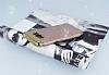 Samsung Galaxy S8 Plus Simli Deri Rose Gold Silikon Kılıf - Resim 2