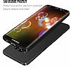 Samsung Galaxy S8 Plus Tam Kenar Koruma Siyah Rubber Kılıf - Resim 5