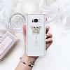Samsung Galaxy S8 Plus Taşlı Kelebek Şeffaf Silikon Kılıf - Resim 1