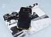 Samsung Galaxy S8 Simli Deri Siyah Silikon Kılıf - Resim 1