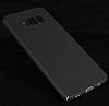 Samsung Galaxy S8 Tam Kenar Koruma Siyah Rubber Kılıf - Resim 9