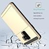 Samsung Galaxy S9 Kartlıklı Ultra Koruma Gold Kılıf - Resim 1