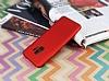 Samsung Galaxy S9 Mat Kırmızı Silikon Kılıf - Resim 2