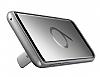 Samsung Galaxy S9 Orijinal Standlı Silver Kılıf - Resim 6