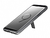 Samsung Galaxy S9 Orijinal Standlı Silver Kılıf - Resim 5