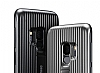 Samsung Galaxy S9 Orijinal Standlı Silver Kılıf - Resim 2