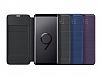 Samsung Galaxy S9 Orjinal Led View Cover Siyah Kılıf - Resim 1