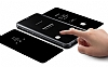 Samsung Galaxy S9 Plus Orjinal Clear View Uyku Modlu Standlı Gold Kılıf - Resim 3