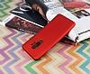 Samsung Galaxy S9 Plus Mat Kırmızı Silikon Kılıf - Resim 1
