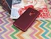 Samsung Galaxy S9 Plus Mat Mürdüm Silikon Kılıf - Resim 2