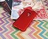 Samsung Galaxy S9 Plus Mat Kırmızı Silikon Kılıf - Resim 2