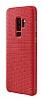 Samsung Galaxy S9 Plus Orijinal Hyperknit Kırmızı Kılıf - Resim 2