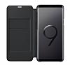 Samsung Galaxy S9 Plus Orjinal Led View Cover Siyah Kılıf - Resim 2