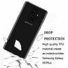 Samsung Galaxy S9 Plus Ultra İnce Şeffaf Siyah Silikon Kılıf - Resim 1