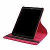 Samsung Galaxy Tab S3 9.7 T820 360 Derece Döner Standlı Kırmızı Deri Kılıf - Resim 3