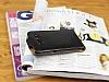 Samsung i8550 Galaxy Win Dik Kapaklı Siyah Deri Kılıf - Resim 1