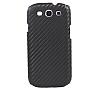 Samsung i9300 Galaxy S3 Carbon Fiber Görünümlü Siyah Kılıf