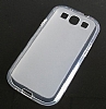 Samsung i9300 Galaxy S3 �effaf Silikon K�l�f