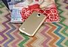 Samsung i9500 Galaxy S4 Mat Gold Silikon Kılıf - Resim 2