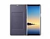 Samsung Galaxy Note 8 Orjinal Led View Cover Mor Kılıf - Resim 2