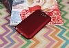 Samsung N7100 Galaxy Note 2 Mat Kırmızı Silikon Kılıf - Resim 2
