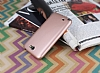 Samsung N7100 Galaxy Note 2 Mat Rose Gold Silikon Kılıf - Resim 1