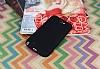 Samsung N7100 Galaxy Note 2 Mat Siyah Silikon Kılıf - Resim 1