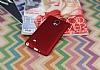 Samsung N9100 Galaxy Note 4 Mat Kırmızı Silikon Kılıf - Resim 2