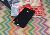 Samsung N9100 Galaxy Note 4 Mat Siyah Silikon Kılıf - Resim 1