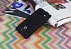 Samsung N9100 Galaxy Note 4 Mat Siyah Silikon Kılıf - Resim 2