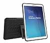 Samsung T560 Galaxy Tab E Ultra Süper Koruma Standlı Siyah Kılıf - Resim 3