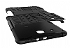 Samsung T560 Galaxy Tab E Ultra Süper Koruma Standlı Siyah Kılıf - Resim 2