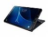 Samsung T580 Galaxy Tab A 10.1 2016 Orjinal Book Cover Siyah Kılıf - Resim 4